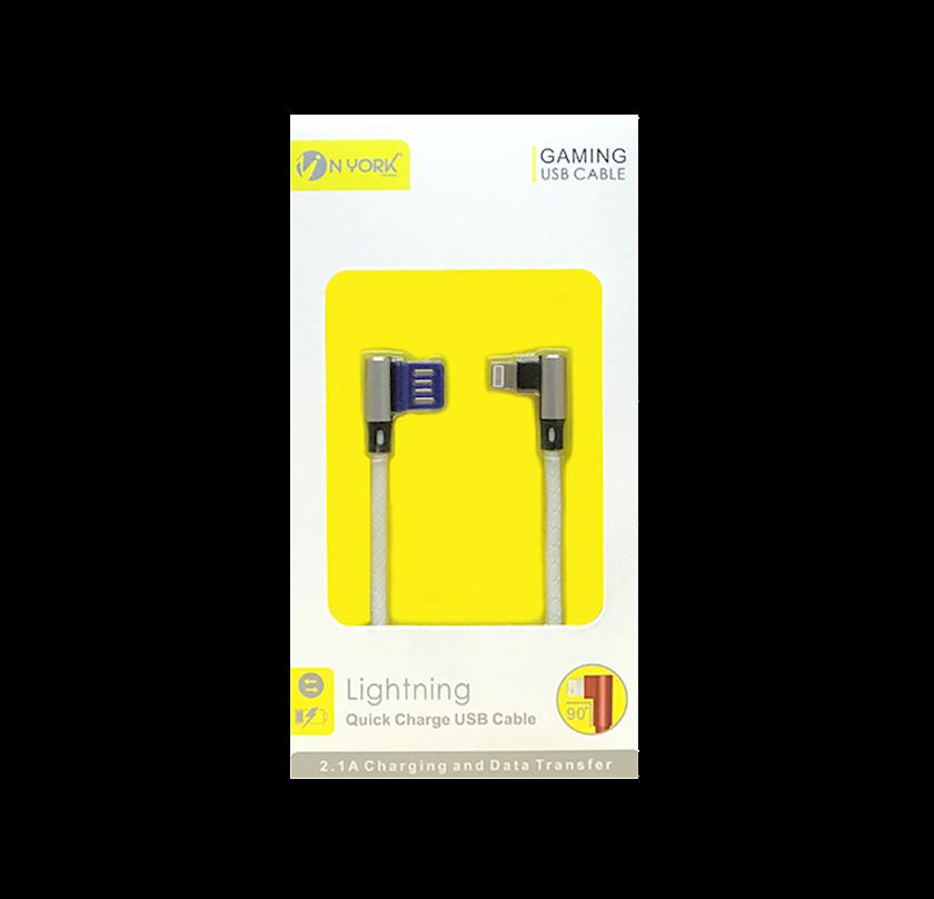 Oyun kabeli USB Lightning Nyork NYU-404