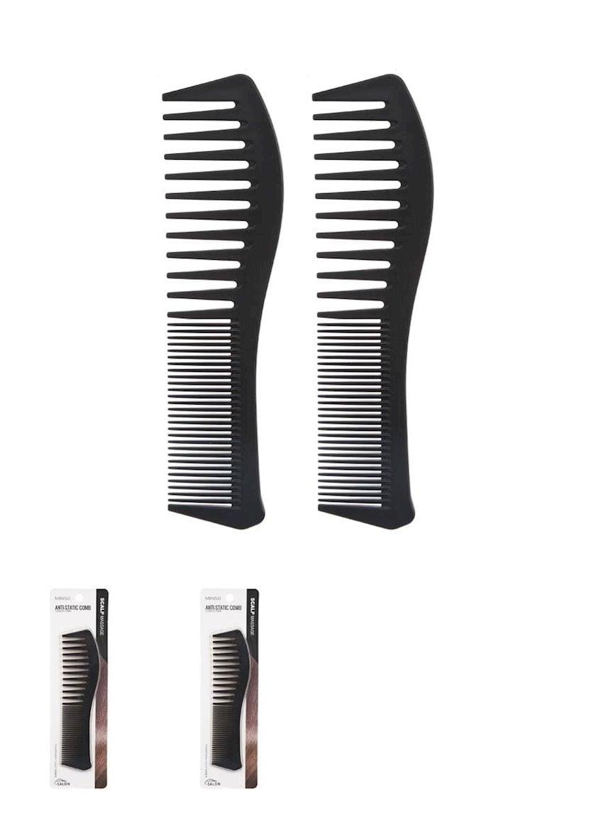 Antistatik daraq Miniso Carbon Fibre Anti-Static Barber Comb, 5 x 19 sm