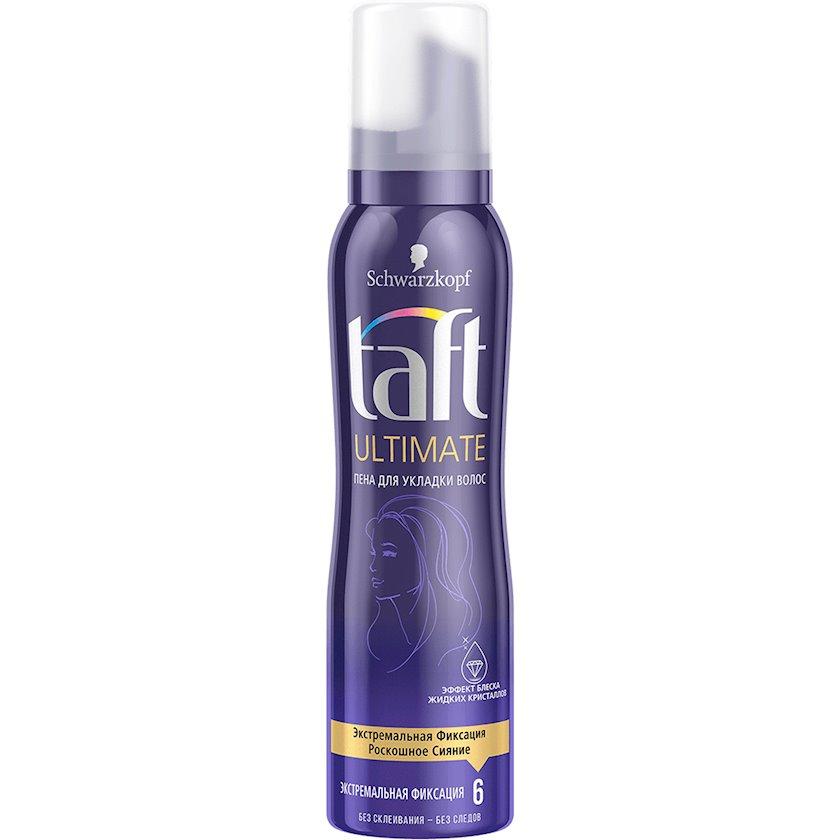 Saç üçün muss Taft Ultimate ekstremal fiksasiya 150 ml