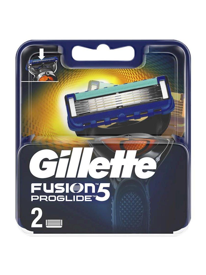 Dəyişdirilə bilən kassetlər Gillette Fusion5 ProGlide 2 ədəd