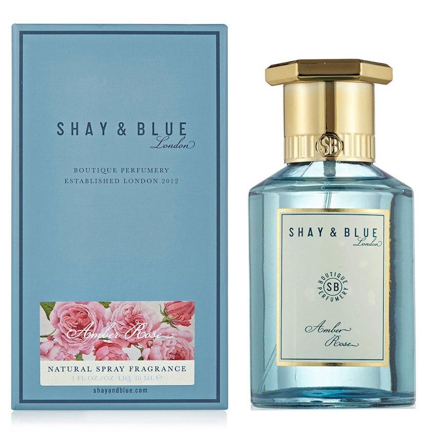 Uniseks ətir suyu Shay & Blue Amber Rose Fragrance 100ml