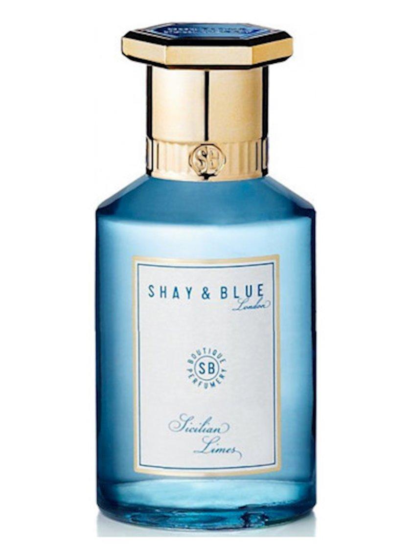 Uniseks ətir suyu Shay & Blue Sicilian Limes Fragrance 100ml