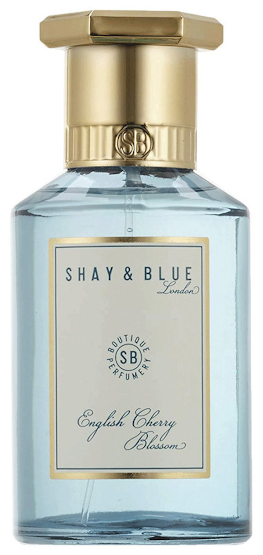 Uniseks ətir suyu Shay & Blue English Cherry Blossom Fragrance 100ml