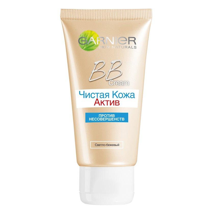 BB-krem Garnier Skin Naturals 5-1-də Təmiz dəri Aktiv ton Açıq bej 50 ml