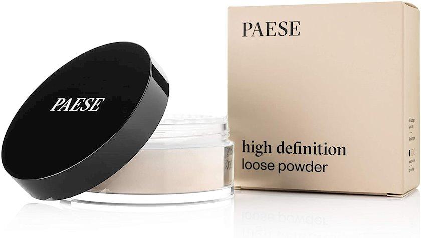 Səpmə kirşan Paese High Definition Loose Powder 01 Light Beige, 15 q