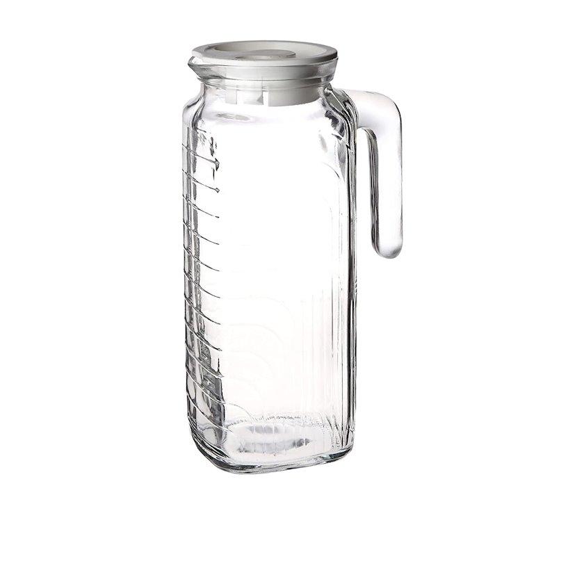 Səhəng Bormioli Rocco Gelo Glass Fridge Jug 1.2 l