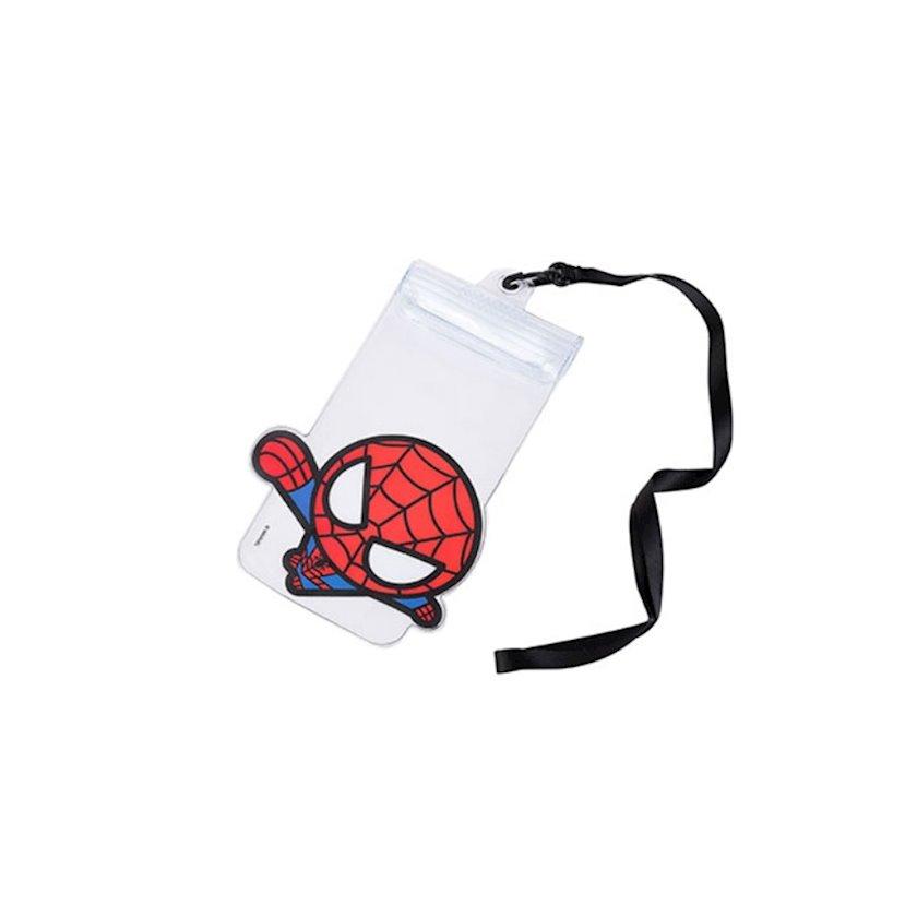 Çexol Miniso Marvel Waterpool Pouch Spider-Man Transparent