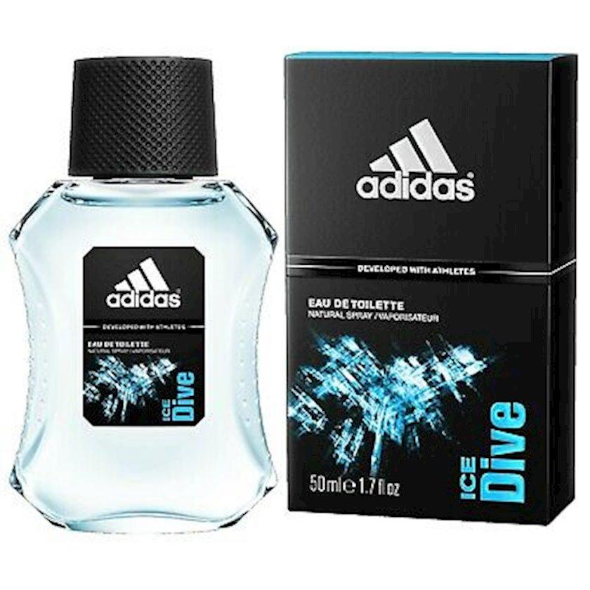 Kişilər üçün tualet suyu Adidas Ice Dive Sport Sensations, 50 ml