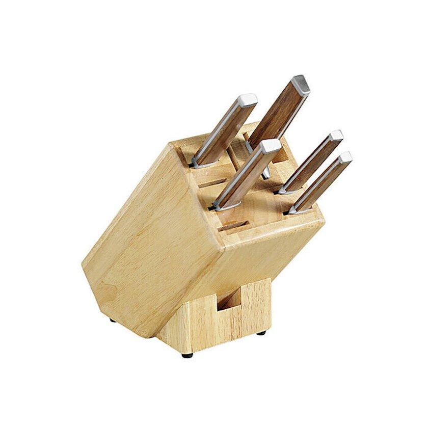 8 bıçaq üçün taxta blok Kesper