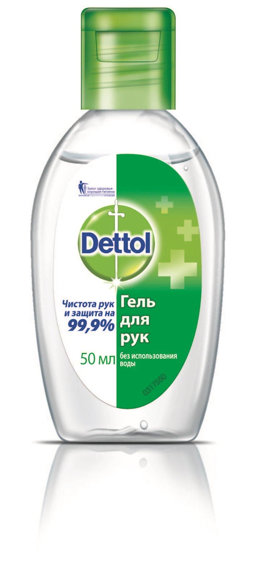 Əl üçün gel Dettol 50 ml