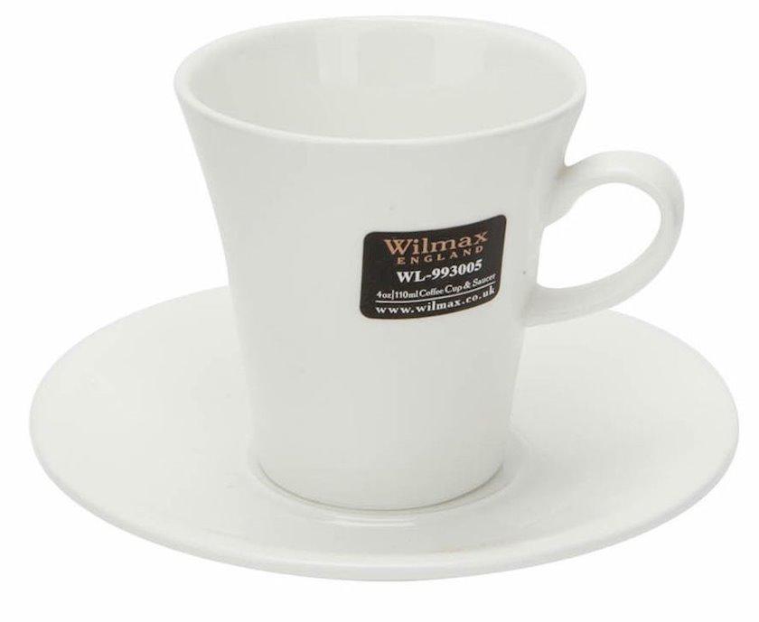 12 əşyadan ibarət qəhvə dəsti Wilmax WL-993005/6C, 160 ml