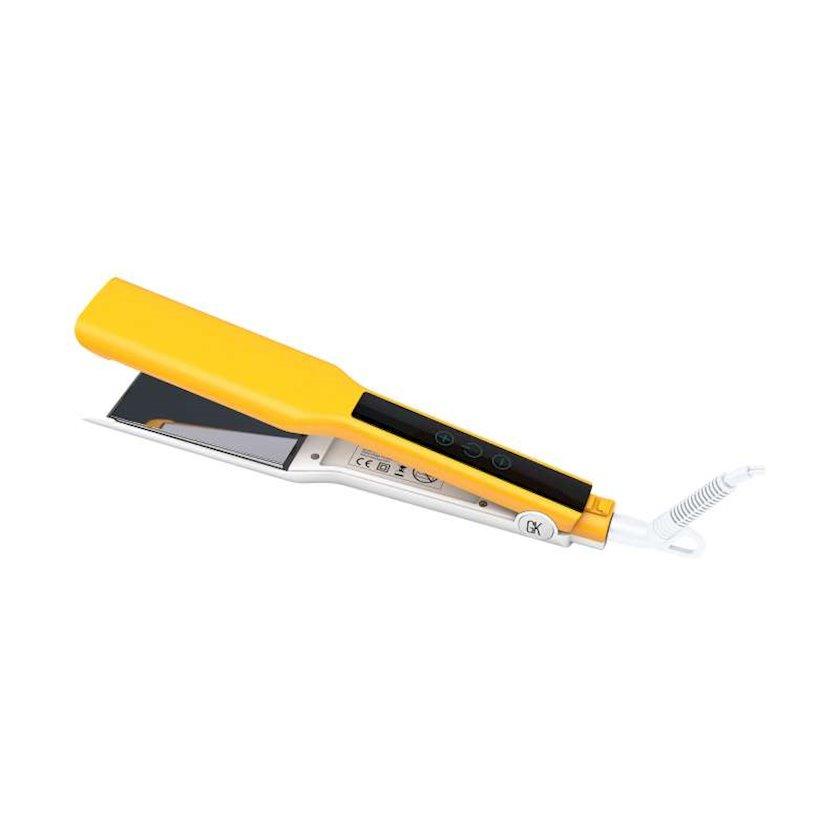 Saç üçün düzləşdirici GKHair Easy Control Titanium Flat Iron EU Plug