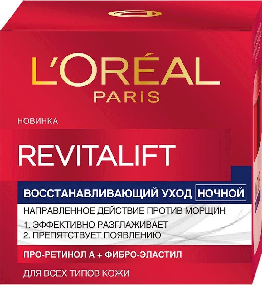 Gecə kremi L'oreal Paris Revitalift liftinq-qulluq 50 ml