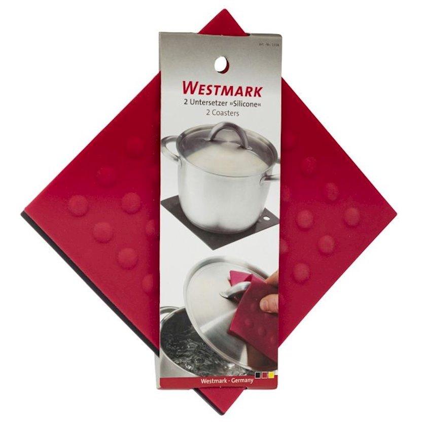 Silikon altlıq Westmark 18x18 sm, 2 ədəd