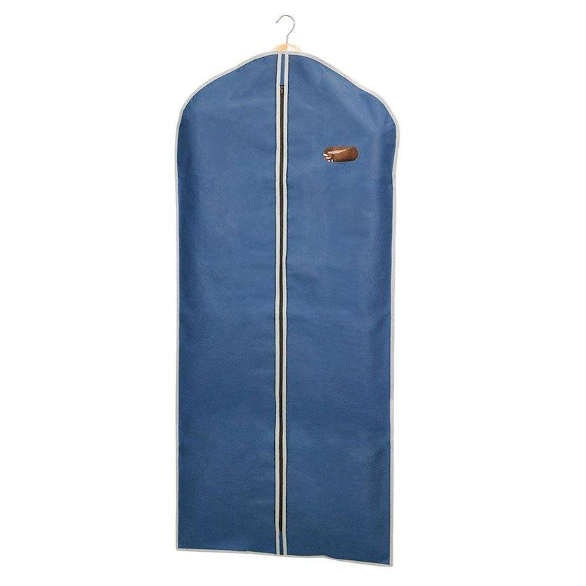 Paltar üçün çexol Metaltex, tünd-göy, göz yeri ilə, 60x135 sm