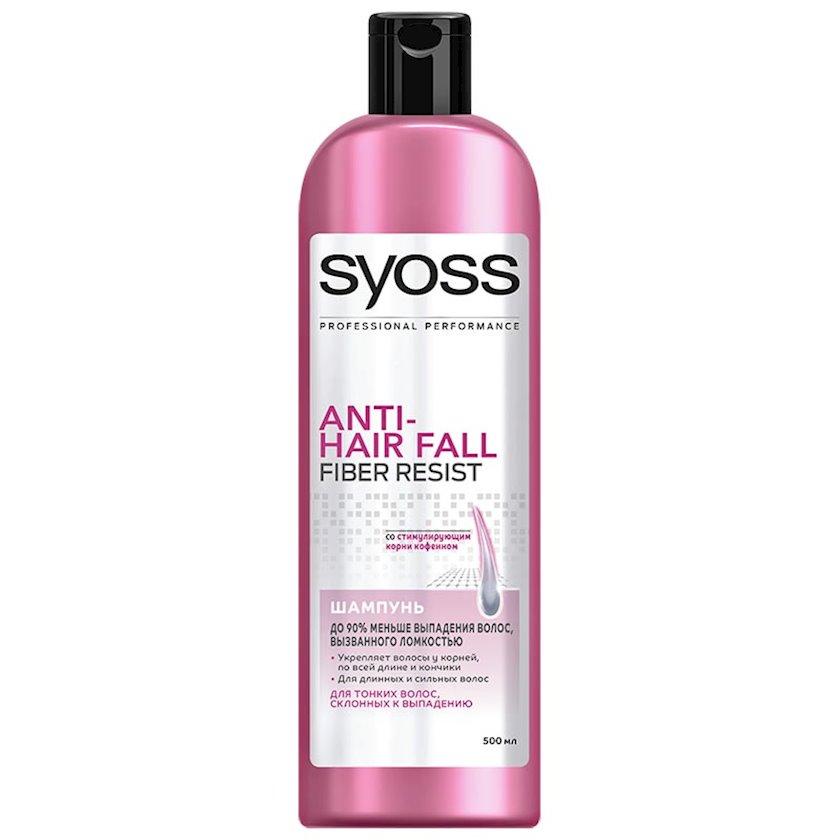 Saç tökülməsinə qarşı şampun Syoss 500 ml