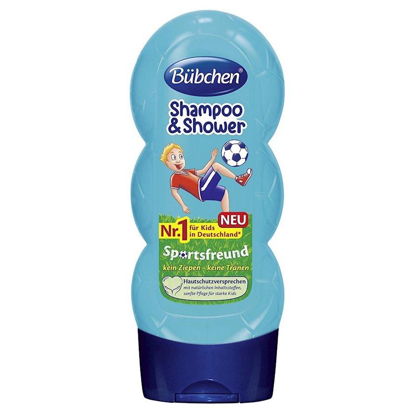 Şampun və duş geli Bubchen Sportsfreund 230 ml