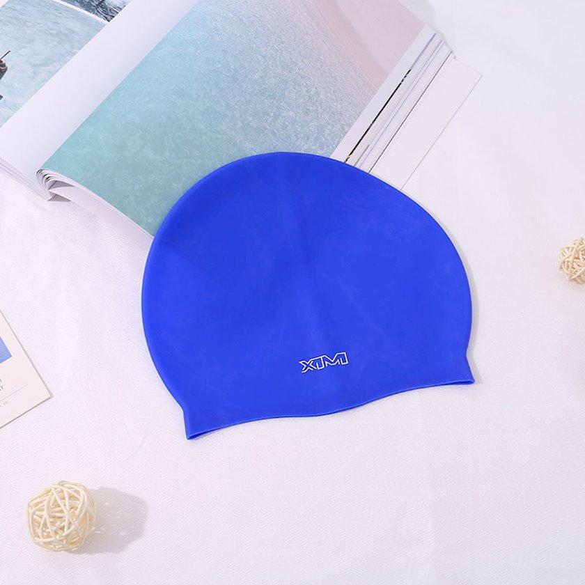 Üzgüçülük üçün papaq Ximivogue Solid Color Swimming Cap for Adult, göy