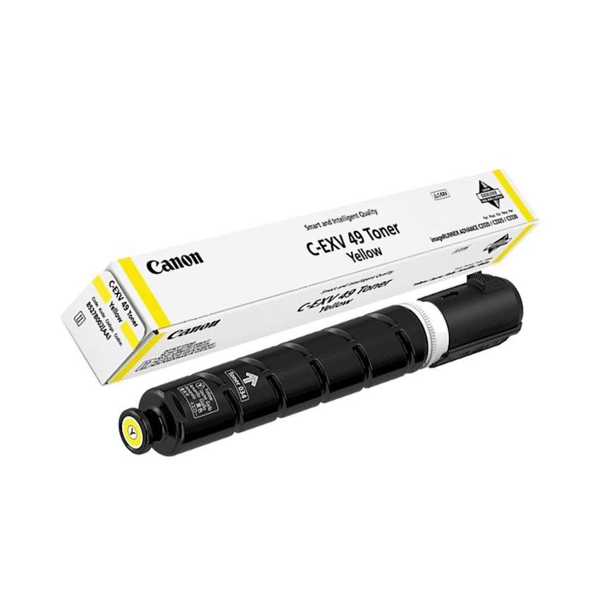 Toner-kartric Canon C-EXV49 Yellow
