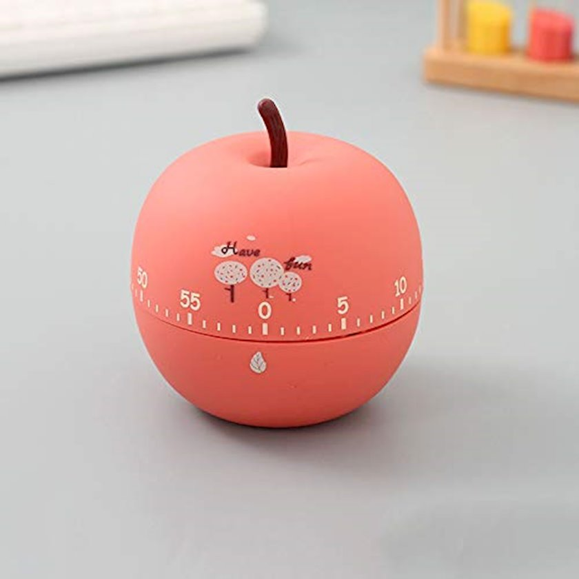 Mətbəx taymeri Хimivogue Fruit Series Apple, çəhrayı