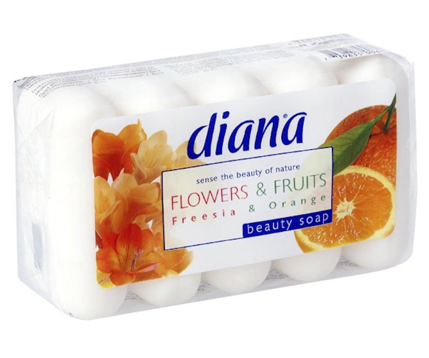 Sabun Diana frut&flowers  ecopack \narıncı-freziya 75 qr.