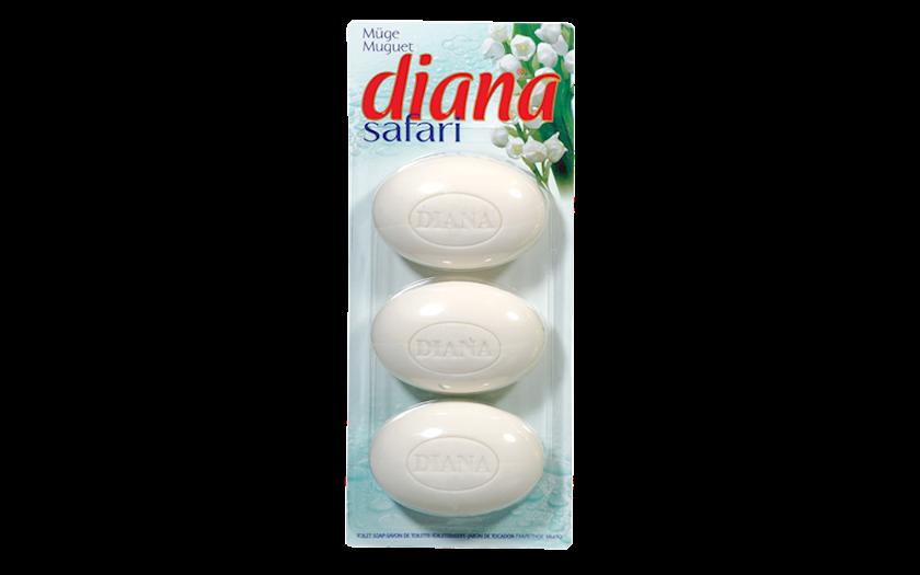 Sabun Diana Safari muguet/vadi zanbağı 3x115 345 qr.