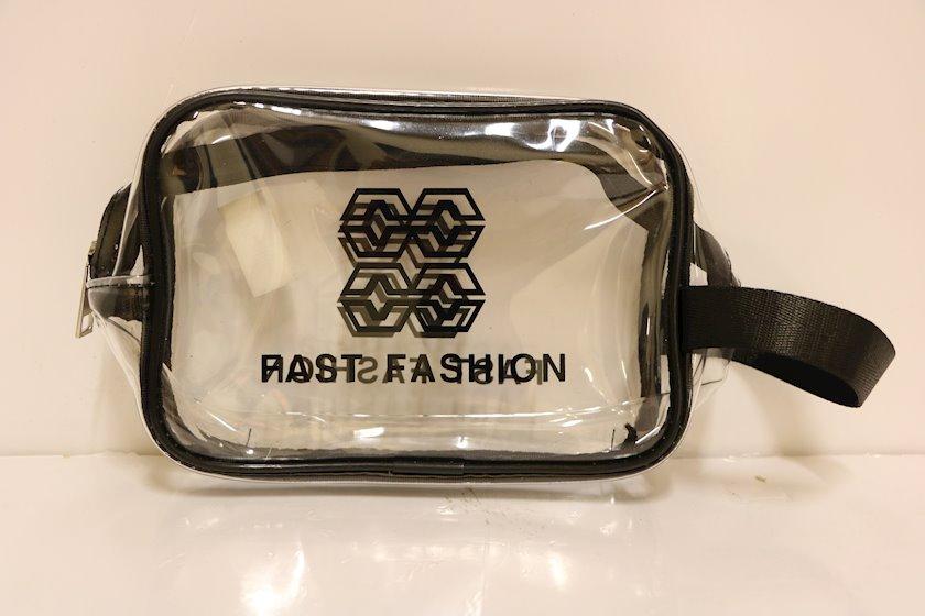 Kosmetika çantası Fast Fashion şəffaf 1090-8