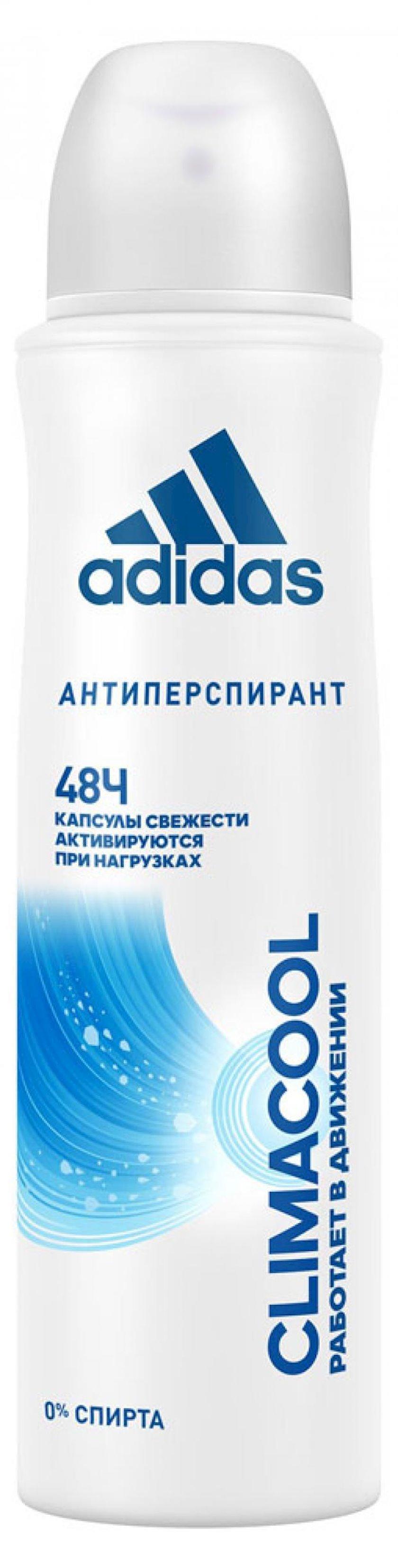 Antiperspirant-sprey Adidas Climacool, qadınlar üçün 150 ml