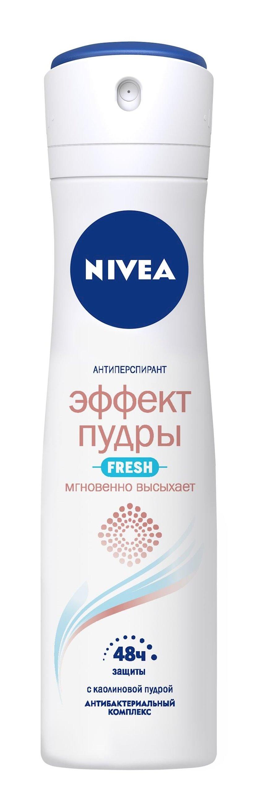 Dezodorant-antiperspirant Nivea Fresh pudra effekti antibakterial kompleks ilə 150 ml