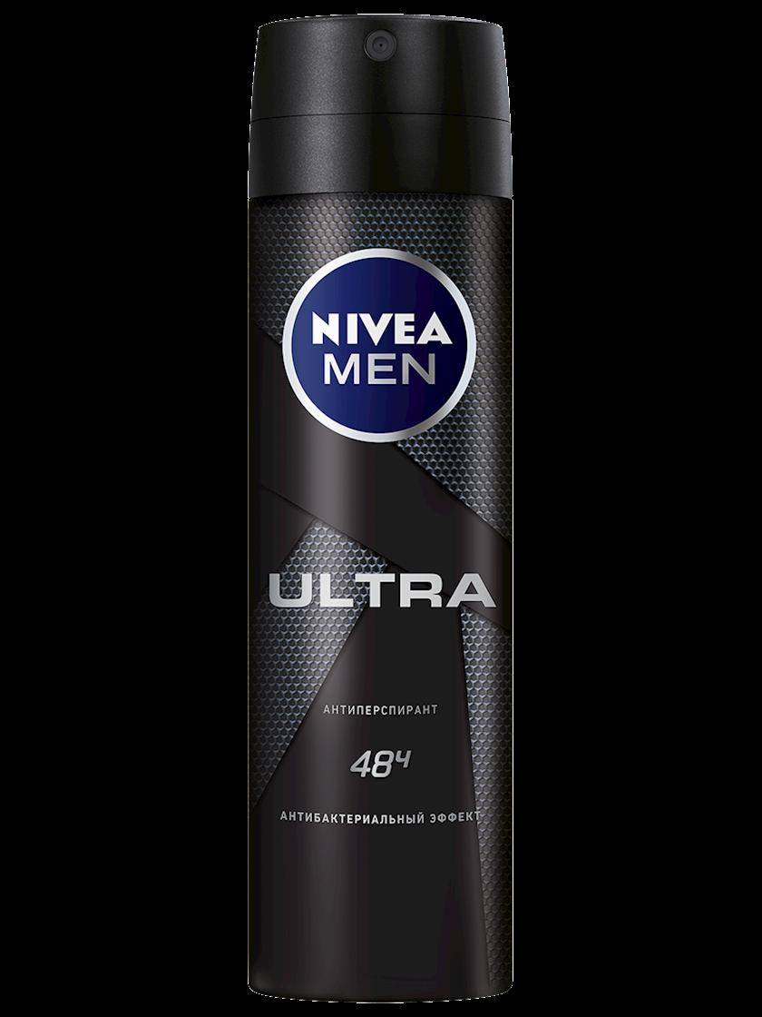 Dezodorant-antiperspirant Nivea Men Ultra antibakterial effekt ilə, 150 ml