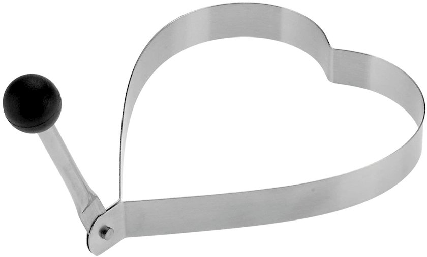 Qayğanaq üçün formalar Westmark Steel, 2 əd, gümüşü, 13.5x1.5x9.8 sm