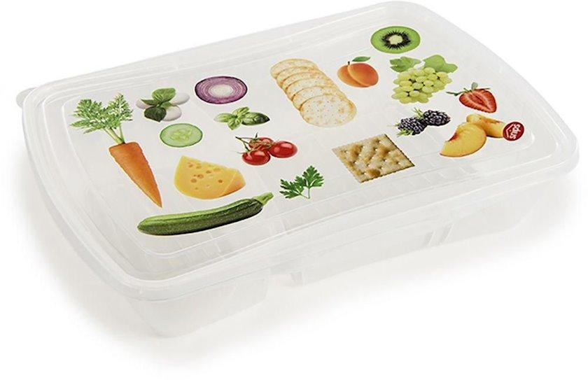Saxlama qabı ikili Snips Easy Lunch, plastik, 23х17х5 sm, 700x300 ml