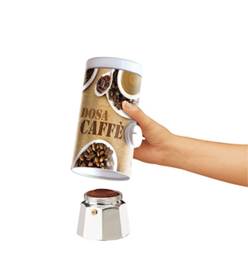 Dispenser kofe üçün Meliconi Coffee time, metal, 23x10x10 sm