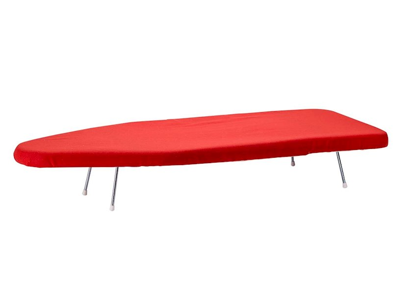 Ütü masası örtüyü Cosy&Trendy, qırmızı, 82x13x4 sm