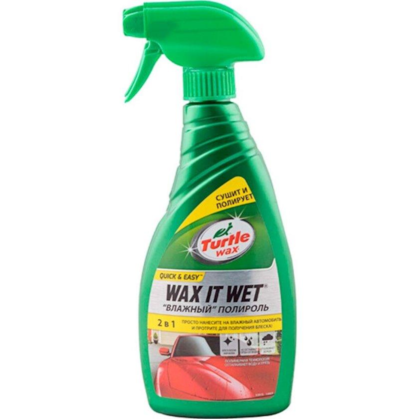 Mayə Polirol Turtle Wax Wax It Wet 500 ml