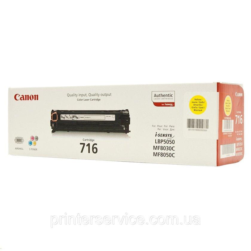 Toner-kartric Canon 716 Yellow