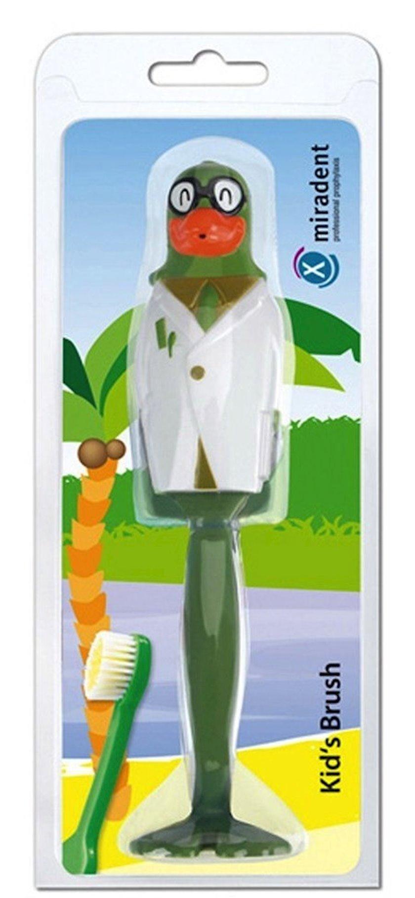 Diş fırçası uşaq üçün Miradent Kids Brush Parrot Soft