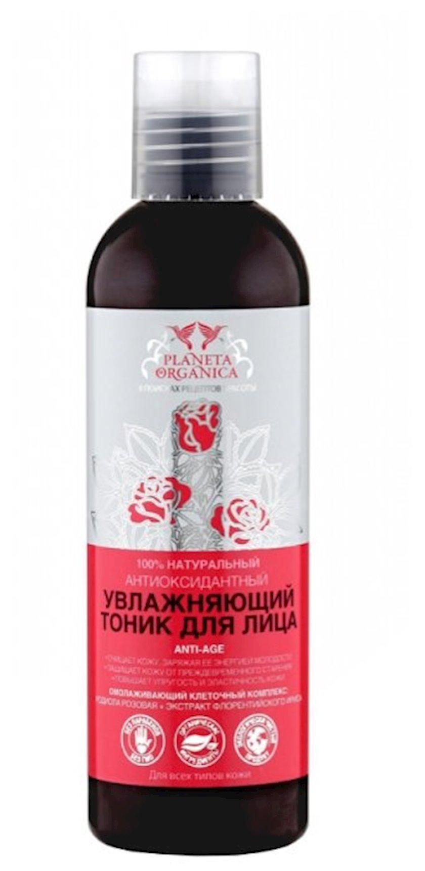 Nəmləndirici tonik üz üçün Planeta Organica 200 ml