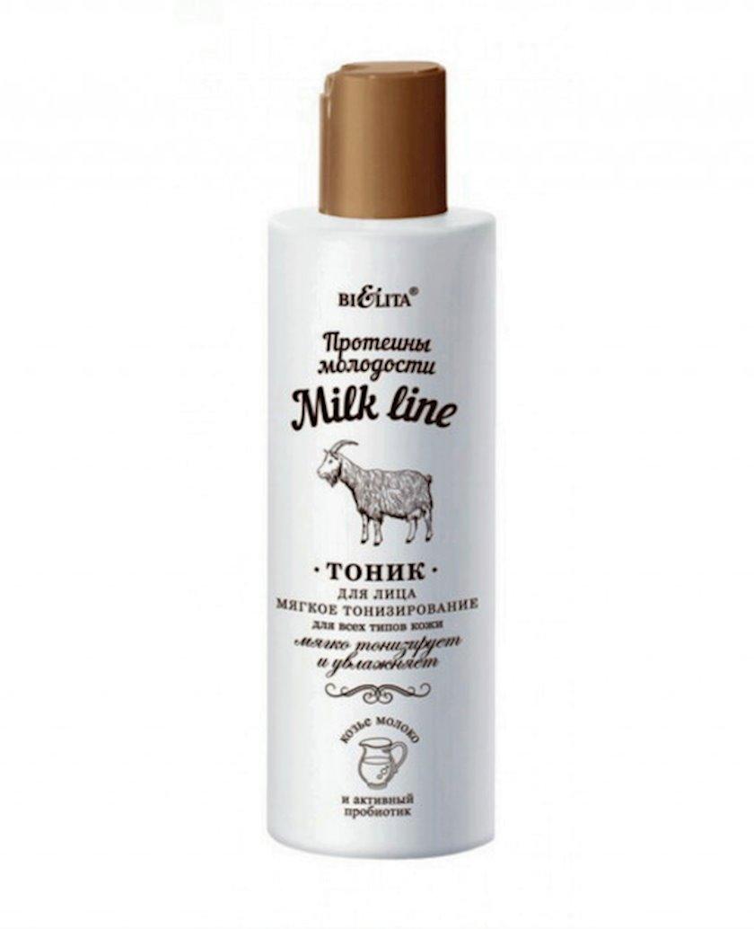 Tonik üz üçün Bielita Протеины молодости Milk Line 200 ml