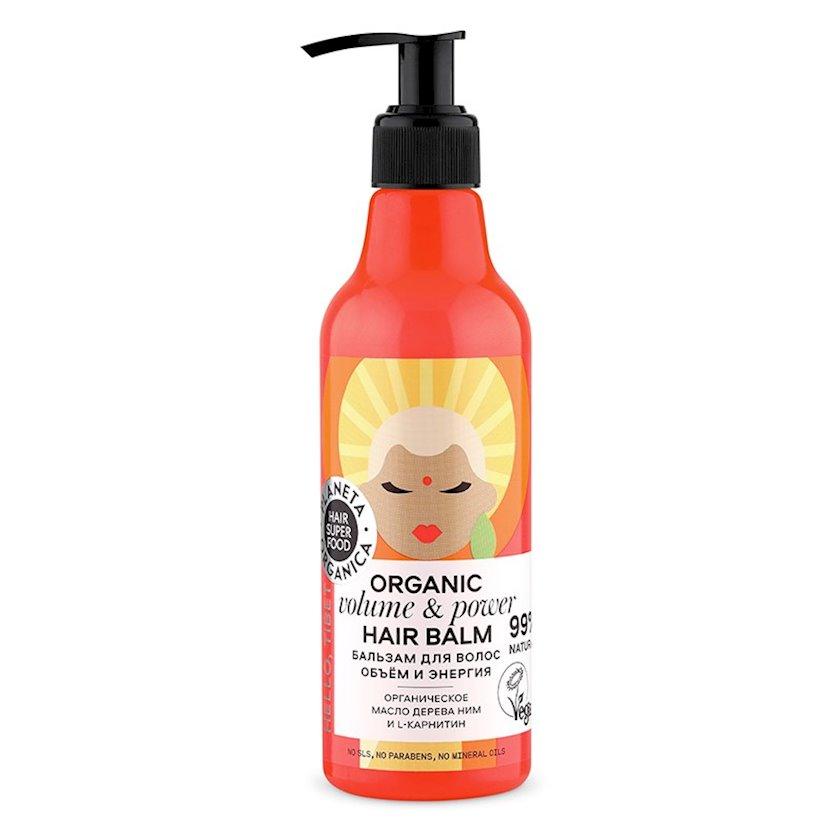 Balzam Planeta Organica saç üçün Hair Super Food Həcm və enerji 250 ml