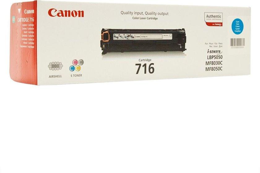 Toner-kartric Canon 716 Cyan