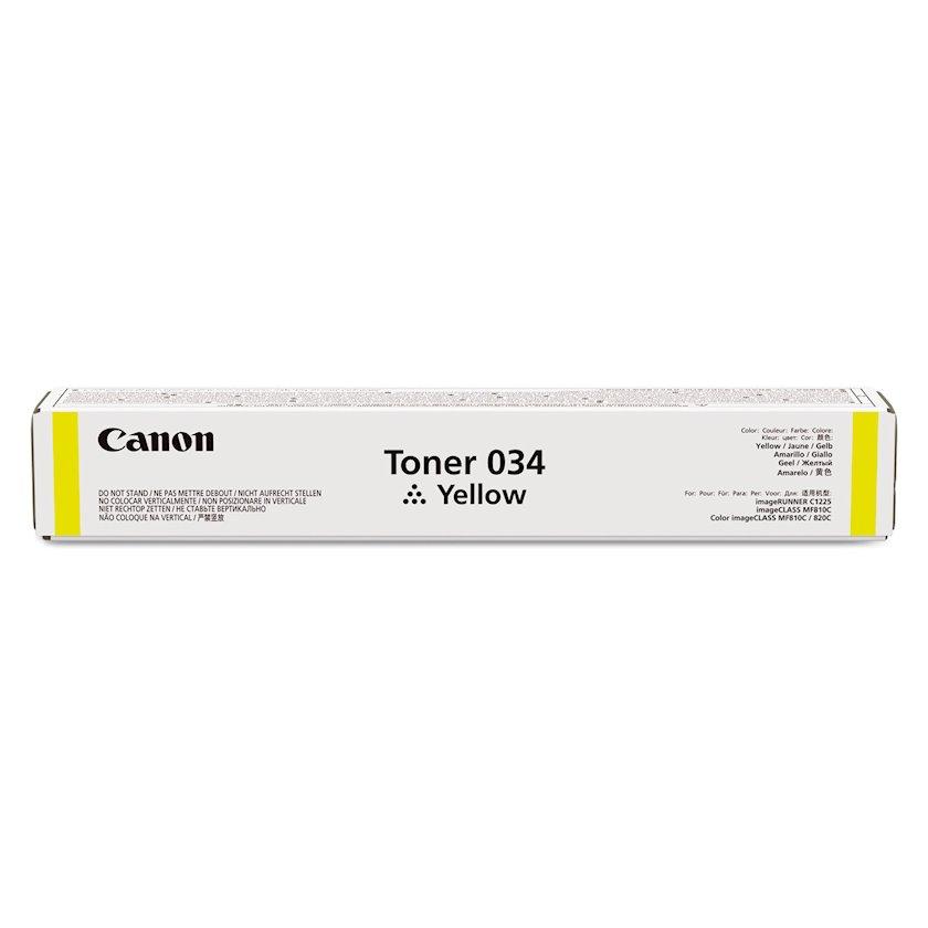 Toner-kartric Canon 034 Yellow