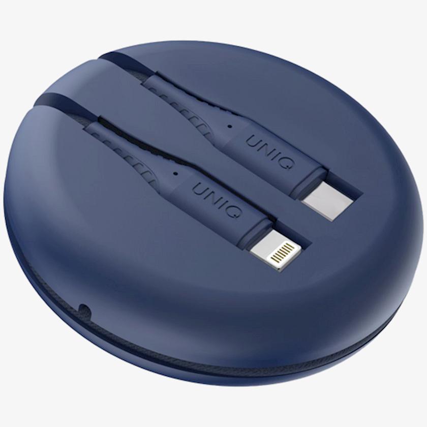 Kabel Uniq HALO USB-A TO LIGHTNING CABLE 1.2M - MARINE BLUE (BLUE)