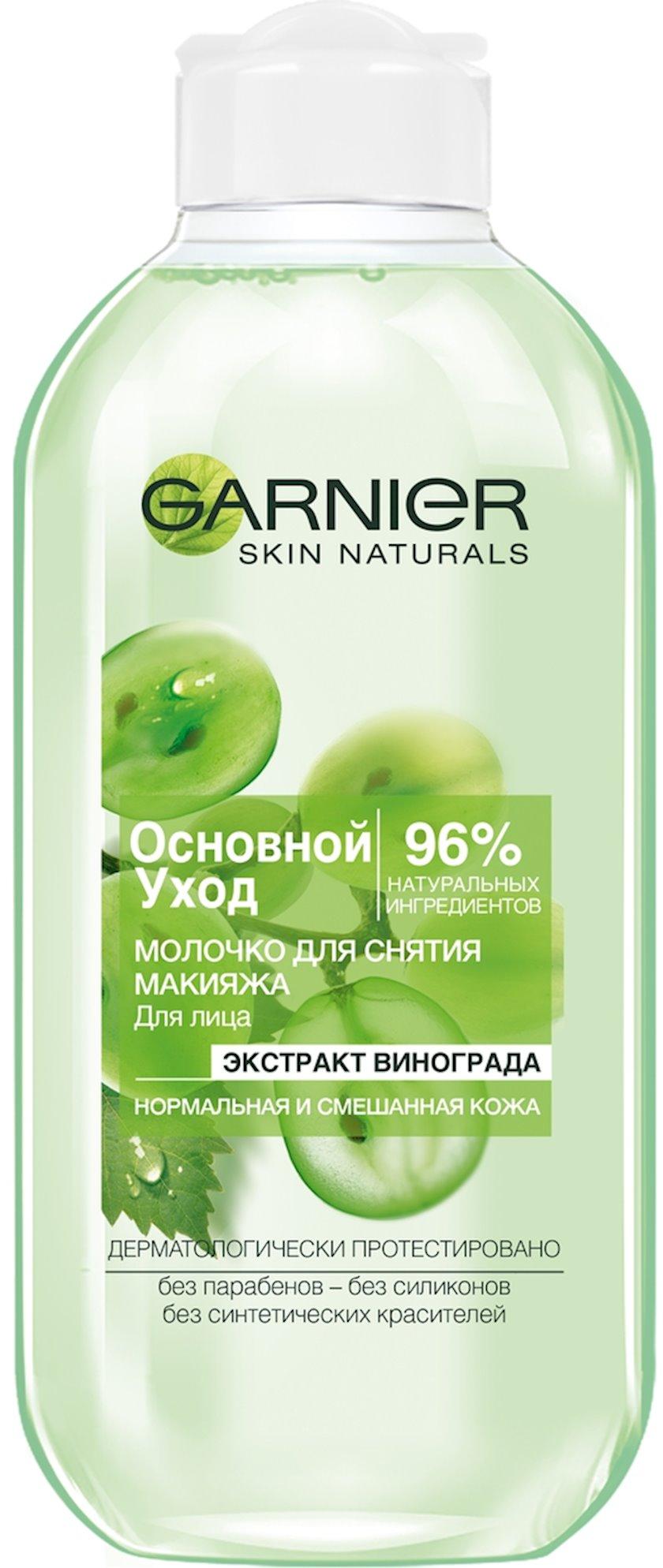 Təmizləyici süd Garnier Skin Naturals Əsas Baxım 200 ml