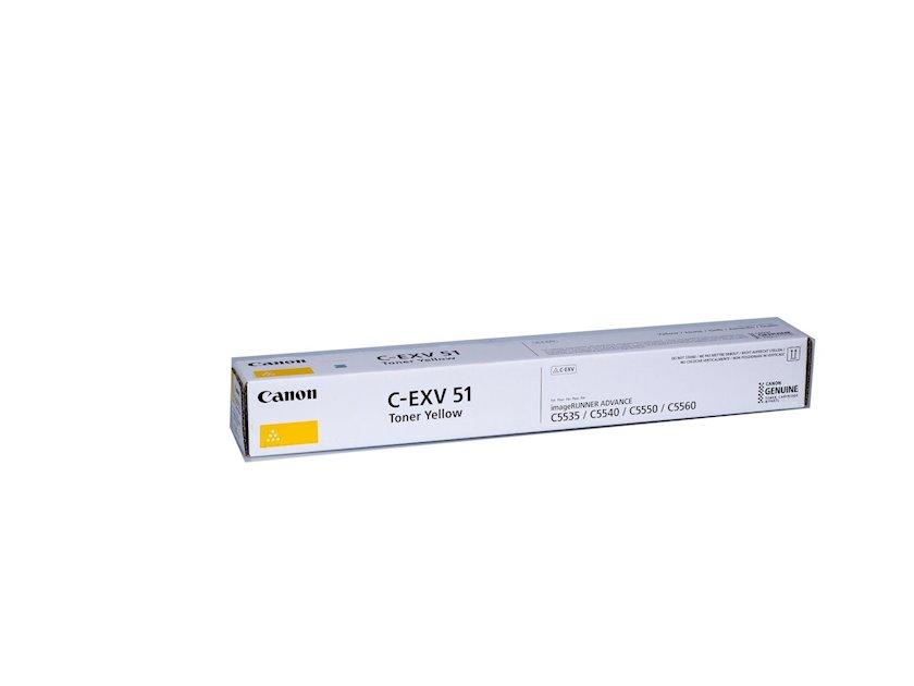 Toner-kartric Canon CEXV51 Yellow