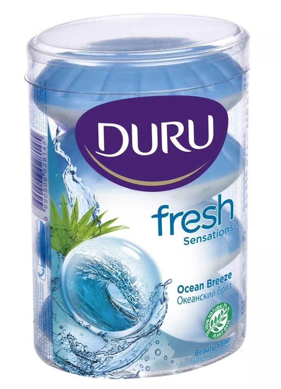 Sabun DURU Fresh Sensations Okean sahil küləyi  4 х 110 q