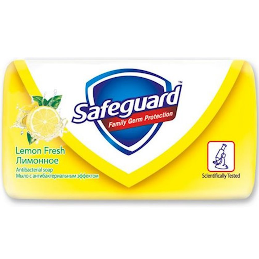 Sabun Safeguard Limonun təravəti 90 q