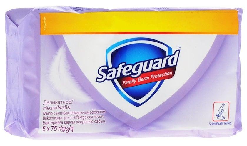 Antibakterial sabun Safeguard Nəzakətli 5 х 70 q