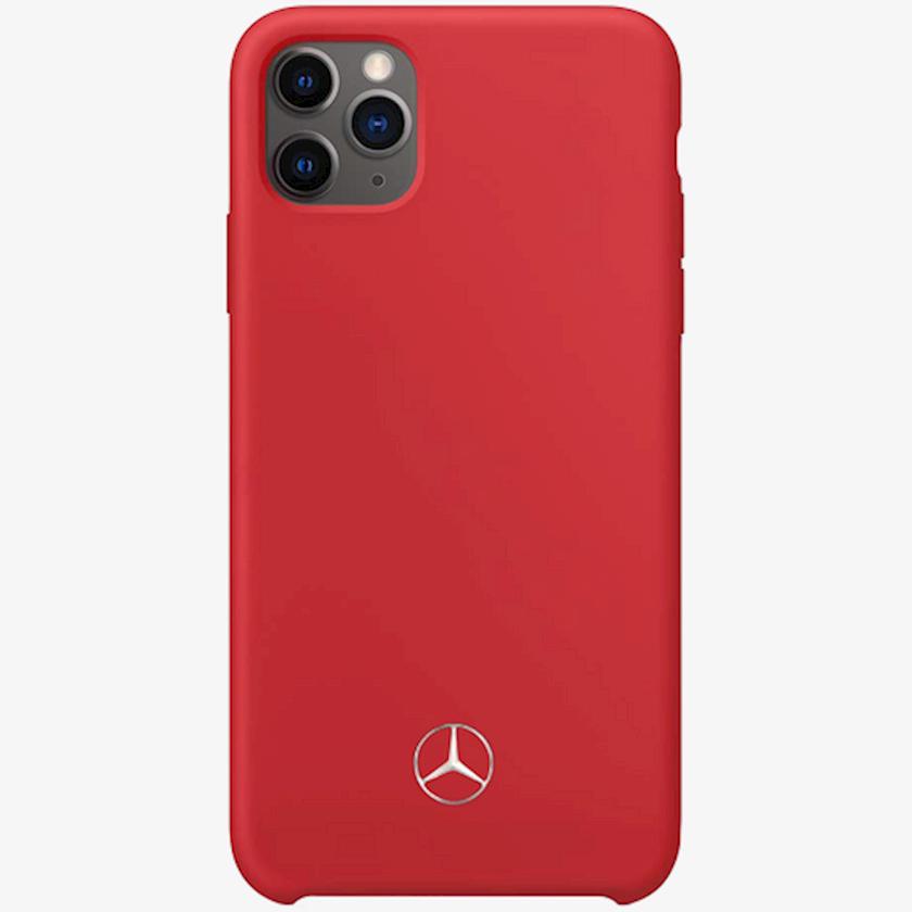 Çexol Mercedes Silicone Line Apple iPhone 11üçün  Red