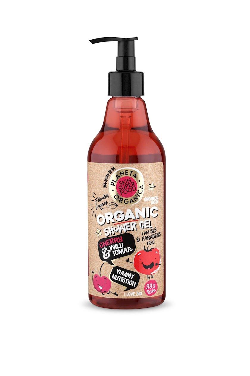Duş üçün gel Planeta Organica Skin Super Food Yummy nutrition 500 ml